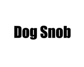 Dog Snob Decal