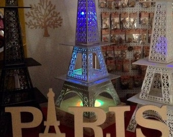 Paris sign, party and house decor