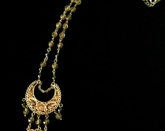 90's Chandelier Necklace                   VG1374