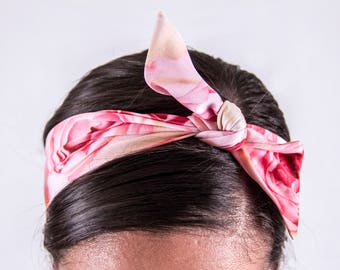 Roses Tie-up Headband