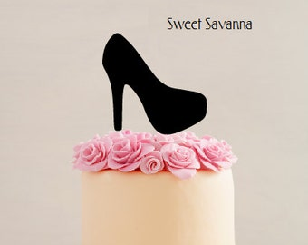 Platform Stiletto Cake Toppers-  MADE IN AUSTRALIA -