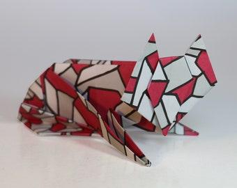 Origami Animal Modelling Kit ONE | 12 Animal Models | 100 Sheets Origami Paper