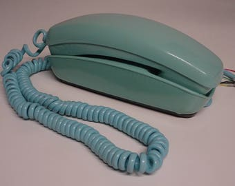 Bell System Trimline Princess Rotary Dial Desk Telephone - FREE SHIPPING