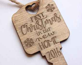 First Christmas New Home Housewarming Ornament