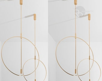 Hanging lamp  Dpages d450+d600мм