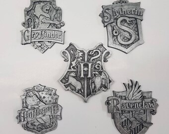 Hogwarts House Crests, Harry Potter inspired Magnets