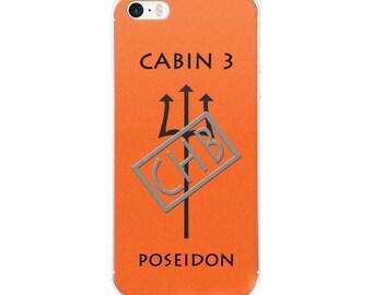 Camp Half-Blood Inspired Percy Jackson Cabin 3 Poseidon iPhone Case