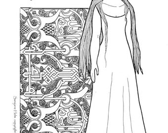 A Renaissance Paper Doll