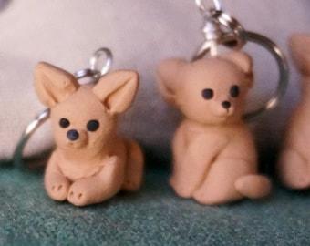 Chihuahua Stitch Markers (set of 4)