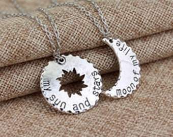 Sun and Moon Couples Necklaces
