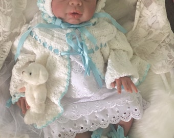 Completed Bi Racial Chastity Completed Reborn Baby Doll from the Kyra 20 inch kit
