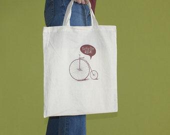 Velo Tote Bag, Short Handles