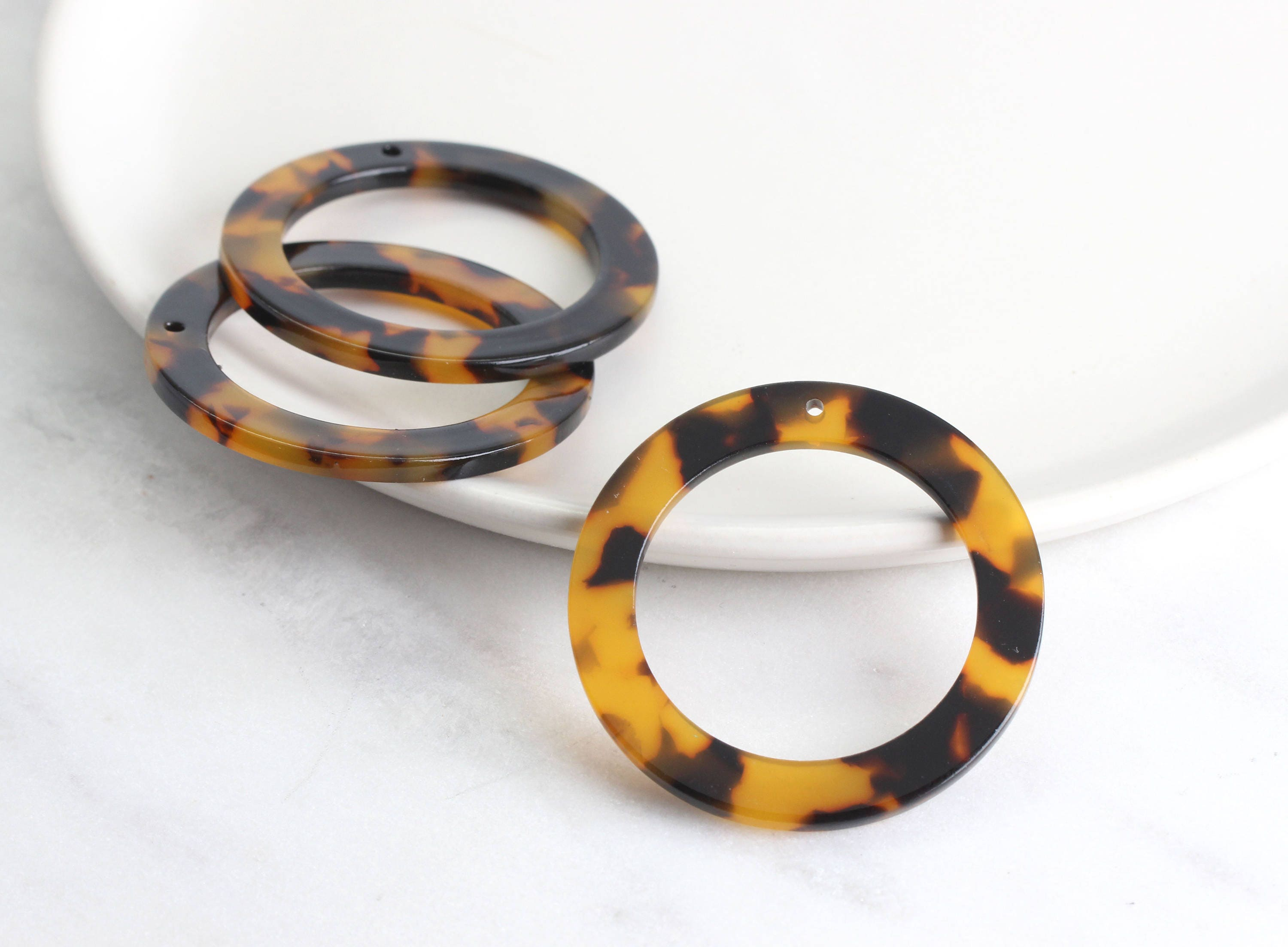 design orange ac rings jewelry