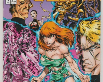 Gen 13, Vol 1, 1, First Printing, Modern Age Comic Book. NM (9.4). February 1994. Image Comics
