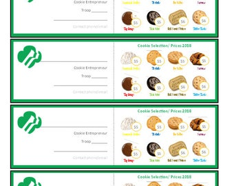 Girl scout cookie program business cards 45 pricing girl scout entrepenur business cards 56 pricing colourmoves Image collections