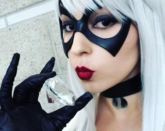 Black Cat Felicia Hardy Cosplay Reversible Choker