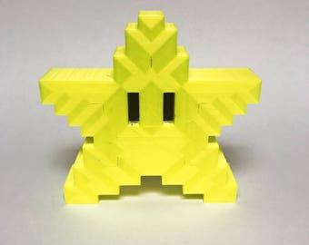 3D Printed Christmas Tree Mario Star