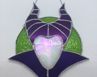 Stained Glass - Maleficent / Disney