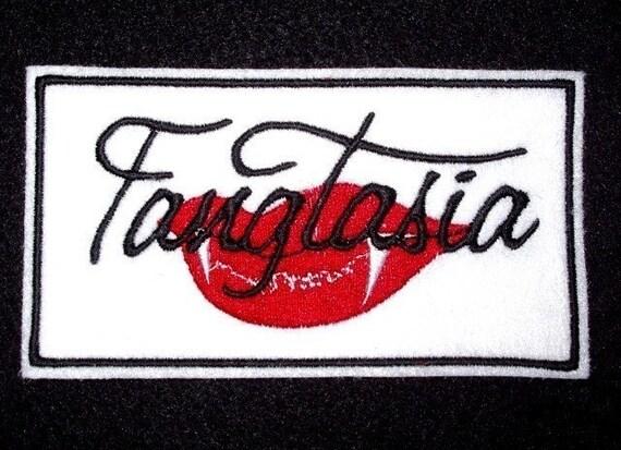 True Blood Fangtasia Patch vampire bar
