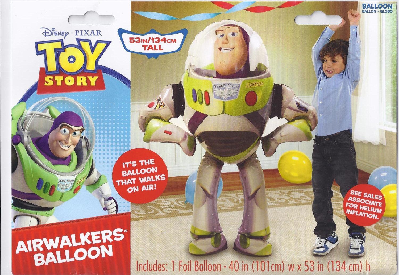 Toy Story Buzz Lightyear Airwalker Jumbo Birthday Balloon