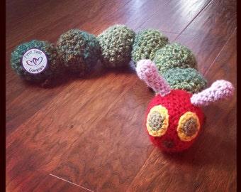Amigurumi Caterpillar : Hungry caterpillar crochet etsy