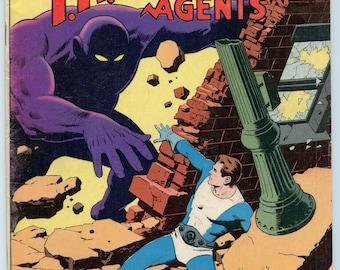 THUNDER Agents 10 Nov 1966 VG (4.0)