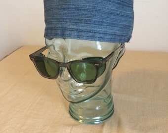 Denim Prisoner Hat
