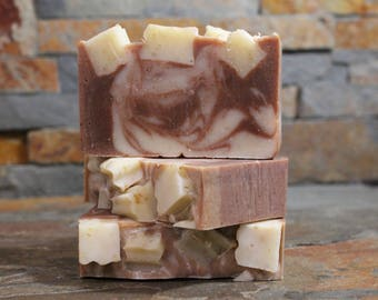 All Natural Oatmeal Soap - Fragrance Free - All Natural