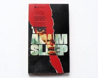 The Adam Sleep: Winfred Van Atta 1980, Avon Vintage Suspense Thriller Paperback Book 1st Print