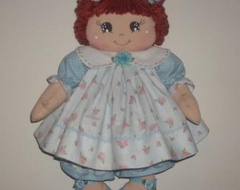 Handmade cloth doll h. cm 40