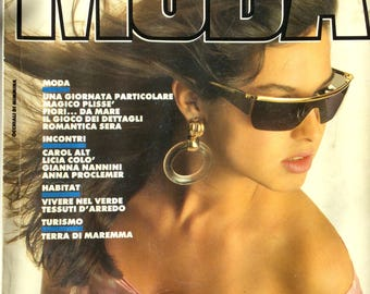 Moda Viva - Italian fashion magazine May 1990