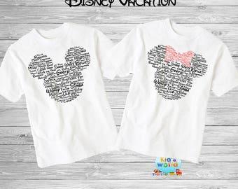 Family disney world shirts 2018, Disney Family Shirts, Matching Family Disney Shirts, Personalized Disney Shirts for Family  2018 des48
