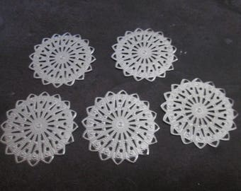 2 prints silver 36 mm