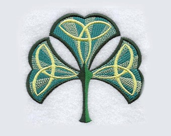 Celtic Knot Shamrock Tea Towel | St. Patrick's Day | Personalized | Hand Towel | Embroidered Kitchen Towel | Embroidered Tea Towel | Ireland