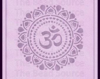 Crown Chakra Stencil, Yoga Stencil, Mylar Stencil, Chakra Symbol, Reusable Painting Stencil, pochoir, art stencil, Sahasrara, Chakra Stencil