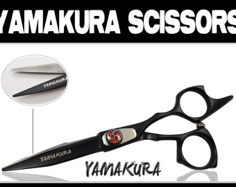 Hair Scissors Brand New 6.0 Yamakura with cloth, oil and case GC10