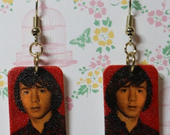 Monkee Photo Earrings
