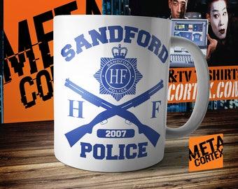 Hot Fuzz - Sandford Police Cornetto Trilogy Movie Mug
