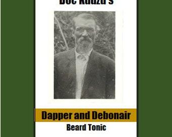Doc Kudzu's Dapper and Debonair Beard Oil