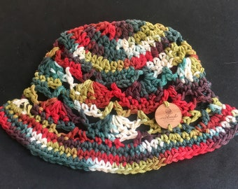 Toddler Sized Cotton Bucket Hat