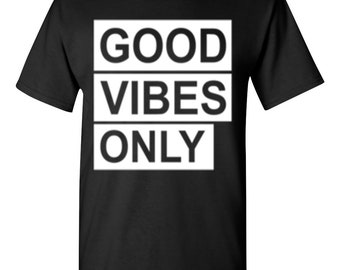 Good Vibes Only-Black