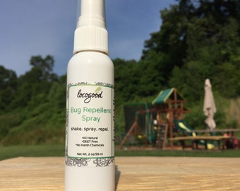 Natural Bug Repellent Spray, Insect Repellent, Citronella, DEET free, No harsh chemicals, natural, plant based ingredients