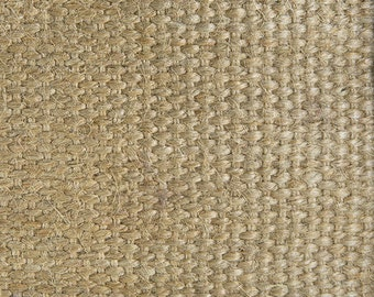 Natural Jute Webbing - 3.25 Inches Wide, Multiple Roll Lengths and Pack Sizes Available