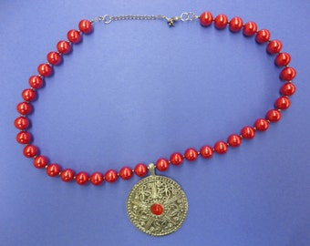 Red Vibrance Necklace