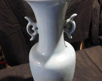 Vintage Robin's Egg Blue Vase