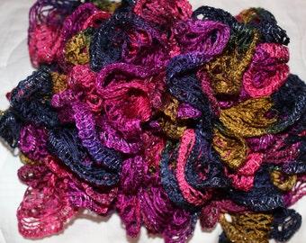 Bohemian Ruffle Scarf Colorful