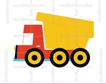 construction trucks clip art excavator clipart dump truck rh etsy com dump truck clipart black and white dump truck clip art free