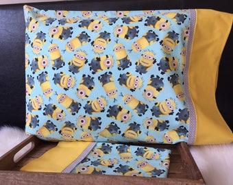 Disney Minion/PillowcasesChildhood Cancer Donation with each purchase!
