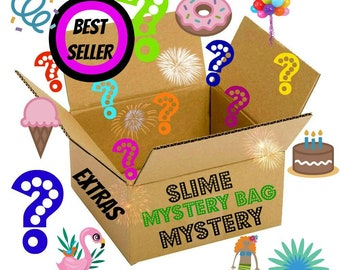 SLIME Slime Mystery Package Deal Scented extras kids Birthday gift Clean scent 2 4 8 ounce oz  cheap slime clear kit cheap top box free mini