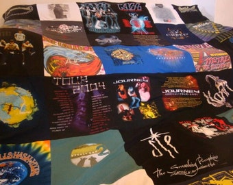Custom T Shirt Blanket UNLIMITED SHIRTS, Items & SIZE Double Sided